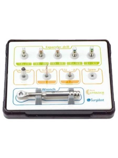 Набор для расщепления гребня с экспандерами Surgident Bone Expander-Kit