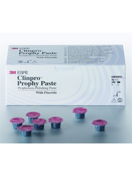Clinpro Prophy Paste - абразивная паста среднезернистая, вкус мяты, (200 капс.х 2г., 3М