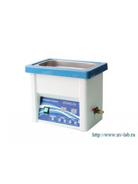Ультразвуковая ванна (мойка) Ultraclean-5DTW (5л, до +80град, пласт.корп)