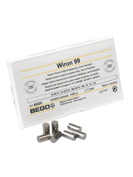 Сплав Wirobond C CoCr для керамики, Co (63,3%), Cr (24,8%), W (5,3%) Mo (5,1%), 1кг