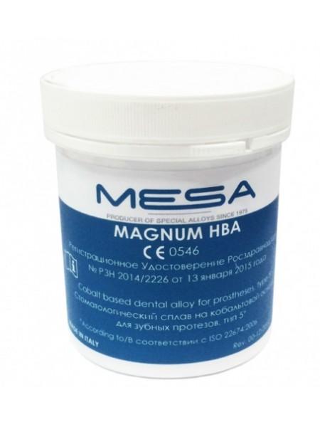 Сплав Magnum HBA для бюгелей, Co (62%), Cr (31%), 1кг, без бериллия
