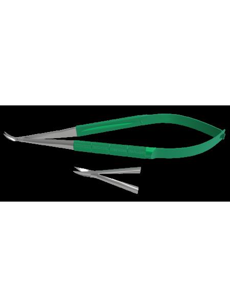 Ножницы микрохирургические изогнутые S-0314.01