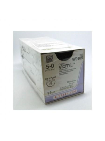 ВИКРИЛ (VICRYL) W9105 (игла колющая 17 мм)