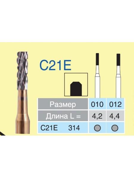 Боры ТВС для разрезания коронок C21E