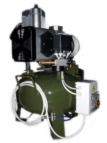 Компрессор (070170) в кожухе (010821), 1 цилиндр, без осушителя.