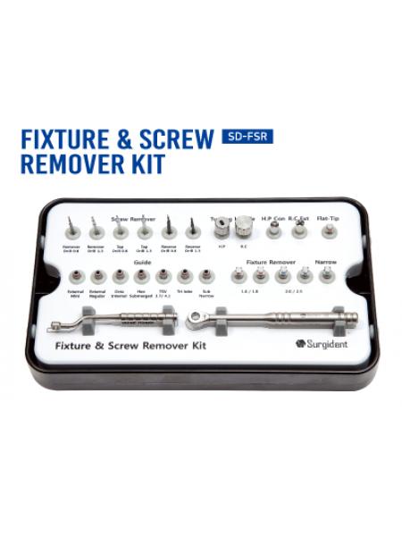 FIXTURE & SCREW REMOVER KIT (Удаление имплантов и винтов)