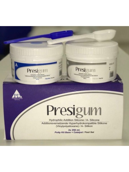 Presigum putty Kit Base+Catalyst/Fast Set