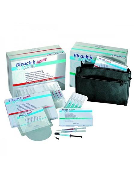 Набор для домашнего отбеливания зубов со вкусом мяты/Bleach'n Smaile home starter set, peppermint 18%