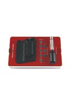 TMS-01 Набор самонарезных (самонарезающих) винтов (25 шт) для НКР: фиксации костных блоков и титановых сеток
