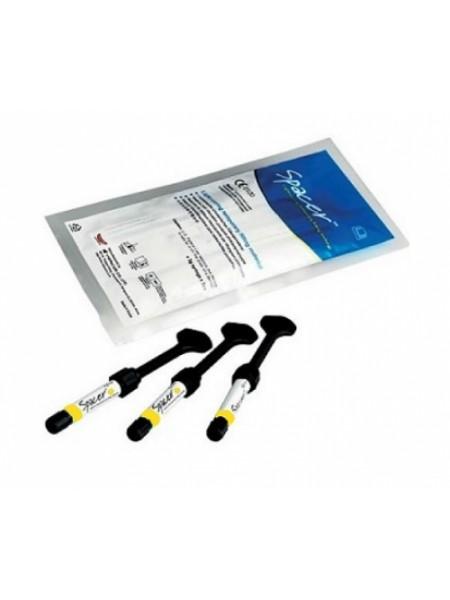 Spacer/Спейсер - светоотверждаемый материал для временного пломбирования, цвет желтый, Vericom Co ltd (Южная Корея)