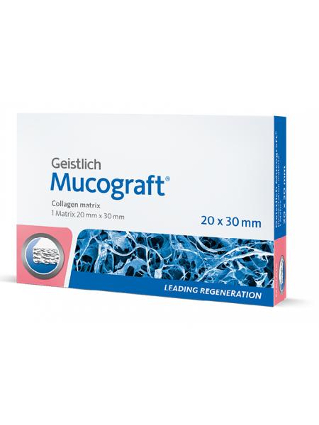 Mucograft 20х30 мм, коллагеновый матрикс для регенерации мягких тканей