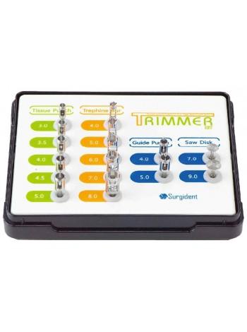 Набор трепанов и мукотомов TRIMMER-KIT