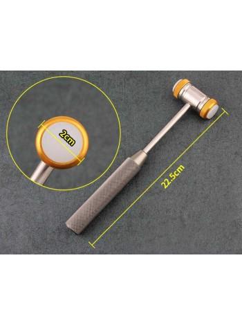 Молоток Molt-gold предназначенный для нанесения удара по хирургическому долоту и остеотому.