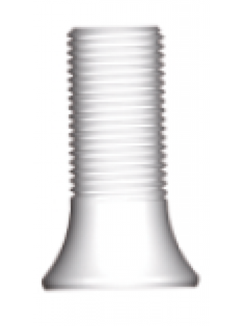 Пластиковый выжигаемый цилиндр