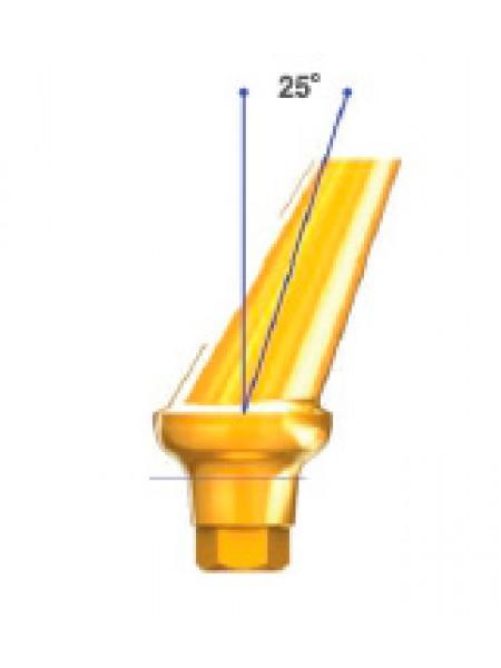 Абатмент D 7.0 угол 25 с шестигранником Hex-E
