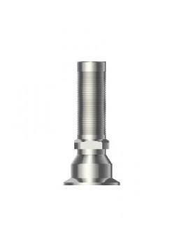 Титановый цилиндр для винтового абтмента одиночный с шестигранником